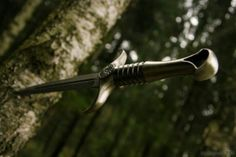 Image result for chinese dagger stuck in wood