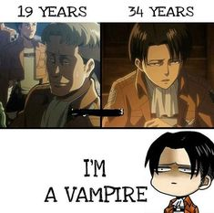 What!!!! Levi is 30 that's crazy I look it up