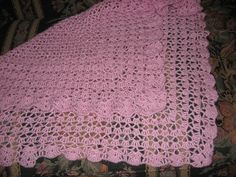 Ravelry: Project Gallery for Three-In-One Shawl pattern by Mary Konior. Crochet Square shawl; I have this pattern
