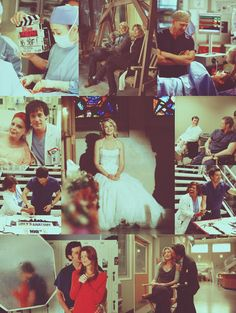 Flashback. Only if Derek and Meredith fell in love in real life.