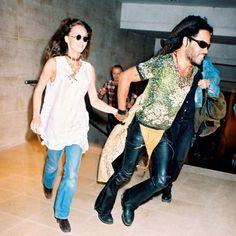 Vanessa Paradis Lenny Kravitz