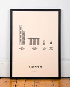 Singapore Screenprint - me &-lo e você