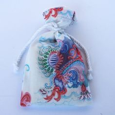 Original Designer Fabric Wrap Bag for Oracle Cards - Caretta - Limited Edition