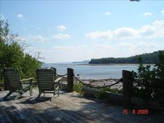 St. Andrews Vacation Rental - VRBO 400602 - 4 BR New Brunswick Cottage in Canada, Private Ocean Front Cottage with a Pool