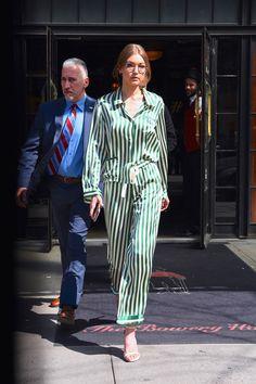 Gigi Hadid en pijama