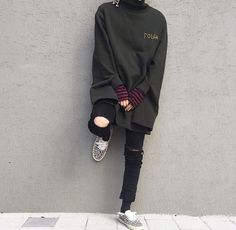 Online Fashion Style - December 23 2018 at Grunge Outfits, Grunge Fashion, Boy Outfits, Fashion Outfits, Fashion Trends, Stylish Outfits, Fashion Tips, Mode Streetwear, Streetwear Fashion