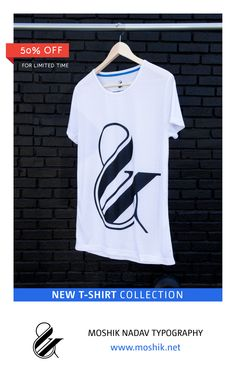 Get our Typography T-shirt collection in special price for limited time. Only on: www.moshik.net