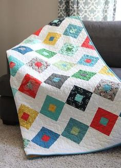 Additional Images of Lucky Quilt Pattern Download by Cluck Cluck Sew - ConnectingThreads.com