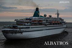 MS Albatros - Kreuzfahrtschiff bekannt aus der Fernsehserie Verrückt nach Meer mit Kapitän Morten Hansen