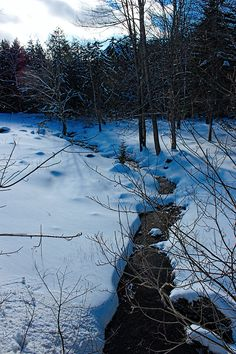 Discover the hidden secrets of Vermont folklore, myths, legends, ghost stories and haunted places in the Green Mountains. Stowe Vermont, Green Mountain, Haunted Places, Winter Day, Winter Landscape, Winter Scenes, Winter Wonderland, Scenery, Explore