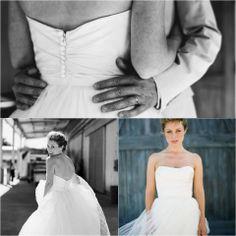 "An #AmsaleBride wearing ""Calista."" #RealWedding   (Photo: Tanja Lippert via Style Me Pretty)"