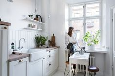 For The Love Of White: A Bright Scandi Apartment