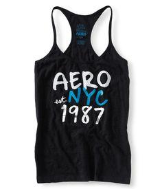 Aero NYC Yoga Tank - Aeropostale