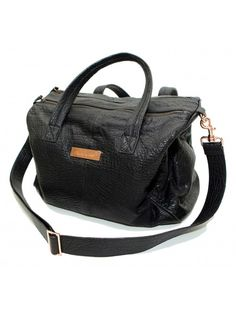 Claudine   Ash Leather Nappy Bag - The Kalani 9be682e6e2