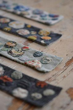 dotty cuffs by coco knits, via Flickr