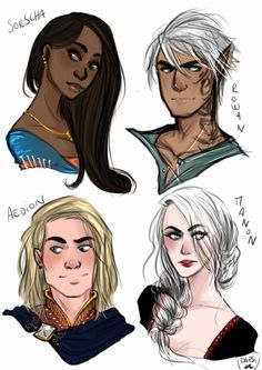 Throne of glass || love Aedion here!