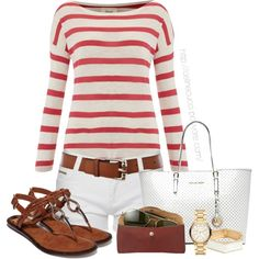 Casual - Summer/Spring by celinecucci on Polyvore