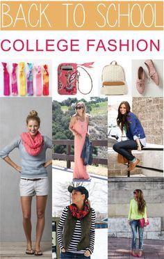 Back to School College Fashion Inspiration 2013