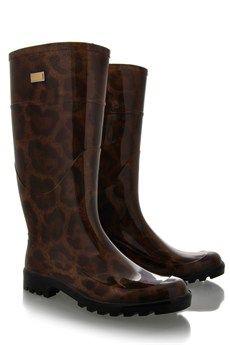 Leopard Rain Boots-fun!