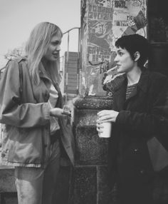 Winona Ryder and Angelina Jolie from Girl, interrupted