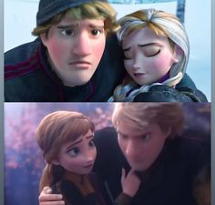 Kristoff always in timing to help/save Anna - Frozen Frozen Anna And Kristoff, Hans Frozen, Disney Frozen 2, Disney Xd, Disney Couples, Disney Memes, Disney Fan Art, Disney And Dreamworks, Disney Cartoons
