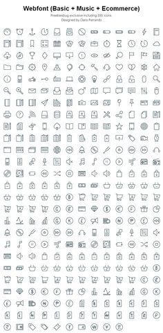 Linea icons - Webfont