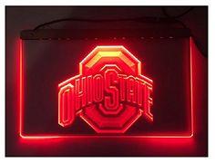 Ohio State Buckeyes, ohio state university, NCAA, Pac 12, College Football, Brutus Buckeye. Buckeye Sign, Buckeye Light, Brutus Buckey -- Awesome products selected by Anna Churchill