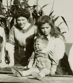 "Grand Duchess Maria Nikolaevna Romanova of Russia and her cousin Prince Ludwig of Hesse (Darmstadt) and By Rhine. ""AL"""