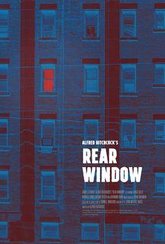 Rear Window PosterSpy is part of Window poster - Poster for Rear Window by Scott Saslow Minimal Movie Posters, Cinema Posters, Film Posters, Film Poster Design, Movie Poster Art, Book Cover Design, Book Design, Window Poster, I Love Cinema