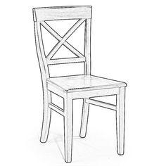 Realizzazione sedia da disegno cliente sedia da disegno - Sedia a dondolo disegno ...