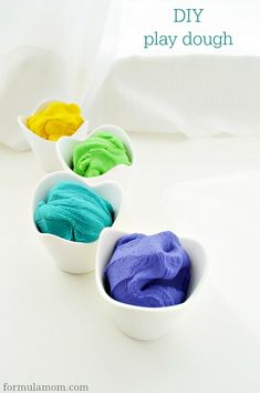 DIY Play Dough #crafts #sensory