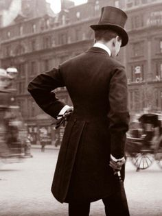 ...London, 1800's...imagine if men still dressed this way, and women dressed like ladies..I can dream