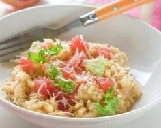 Risotto au pamplemousse et gruyère râpé allégé spécial calories négatives : http://www.fourchette-et-bikini.fr/recettes/recettes-minceur/risotto-au-pamplemousse-et-gruyere-rape-allege-special-calories-negatives