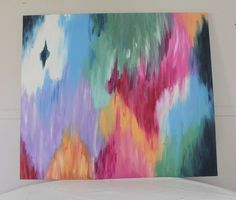 DIY Abstract Art by Home Coming, via Flickr