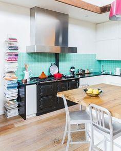 Lovely kitchen colours