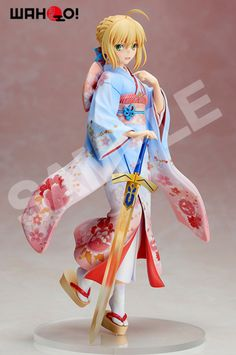 Crunchyroll - Saber Kimono Version 1/7th Scale Figure - Fate/Stay Night [Aniplex+Exclusive]
