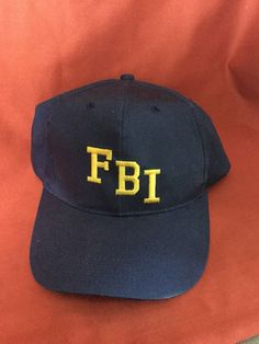 e32384b53ed Female Body Inspector Mesh Trucker Hat Cap Snapback Adjustable New-Navy Navy  FBI Sewn letters FBI. Wear as joke - Female Body Inspector Has Federal  Bureau ...