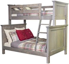 Kaon Georgian Bunk Bed Twin Double Slate showcase Girls new bunkbeds being made in white! Pine Bunk Beds, Cornwall House, Solid Wood Furniture, Furniture Manufacturers, Stain Colors, Beautiful Bedrooms, Boy Room, Bedroom Furniture, Decorating Ideas