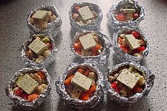 Grilling Recipes Vegetable parcels for the barbecue 10 Barbecue Recipes, Grilling Recipes, Mozarella, Bbq Steak, Bbq Grill, Homemade Carrot Cake, Foil Pack Meals, Grill Party, Pizza Hut