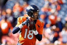 The Panthers and Broncos are packed with freakishly versatile athletes like Cam Newton and Von Miller rather than the specialized role players of old. Denver Broncos Quarterbacks, Role Player, Super Bowl Sunday, Peyton Manning, Panthers, Football Helmets, Athlete, Nfl, Fitness