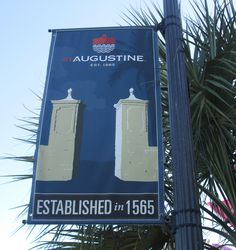 St. Augustine, Florida - the oldest city in the United States established 1565