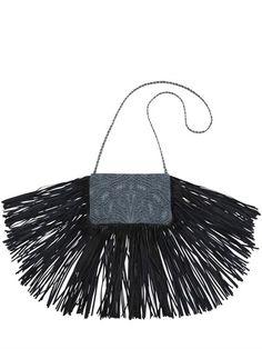 Designer Clothes, Shoes & Bags for Women Fringe Handbags, Denim Handbags, Fringe Purse, Blue Handbags, Purses And Handbags, Denim Shoulder Bags, Shoulder Handbags, Denim Purse, Blue Purse