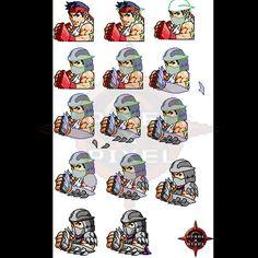 Ryu / Shredder by pixelxpixel #Street_Fighter #Teenage_Mutant_Ninja_Turtles #TMNT