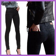 2017 Spring Autumn Middle Waist Women hip-lifting Jeans Stretch Skinny Pencil Pants Black Casual Denim Boyfriend Women Jeans