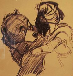 Brother Bear concept art