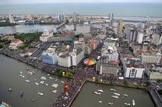 The Galo da Madrugada Carnival parades on February 18, 2012 in Recife, Brazil