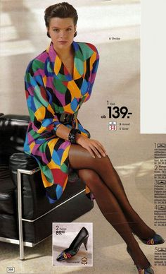 80s style pantyhose