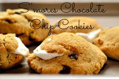 Gluten Free Chocolate Chip Cookies S'Mores