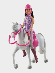 Barbie Doll and Horse: Toys Amazon http://amzn.to/2gkZbOD