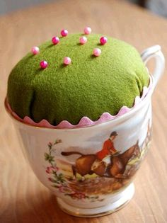 Dishfunctional Designs: My Cup Of Tea - Teacup Crafts & Home Decor - so easy to make for my favorite tea sipping crafter.